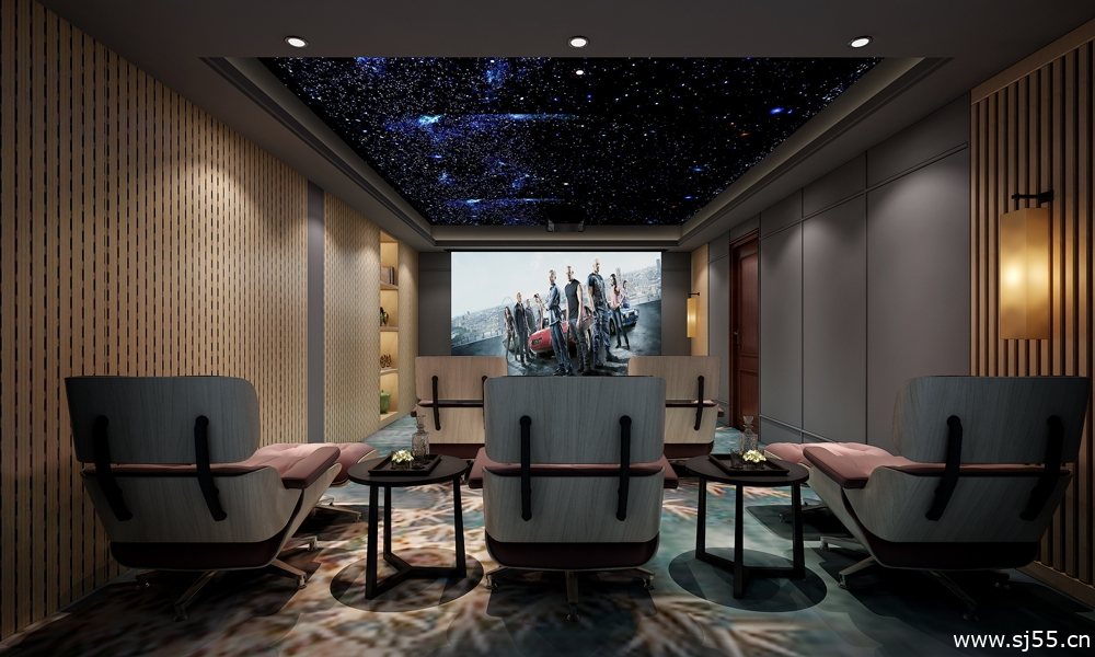 27-娱乐/茶室/影音室模型/影音室效果图/3d模型/茶室模型/娱乐室3d